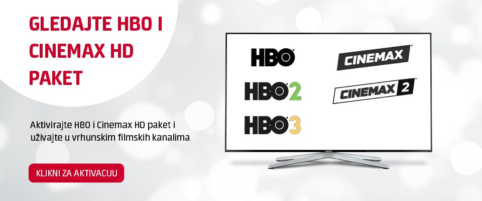 Aktiviraj HBO i Cinemax paket i uživaj u vrhunskim filmskim kanalima