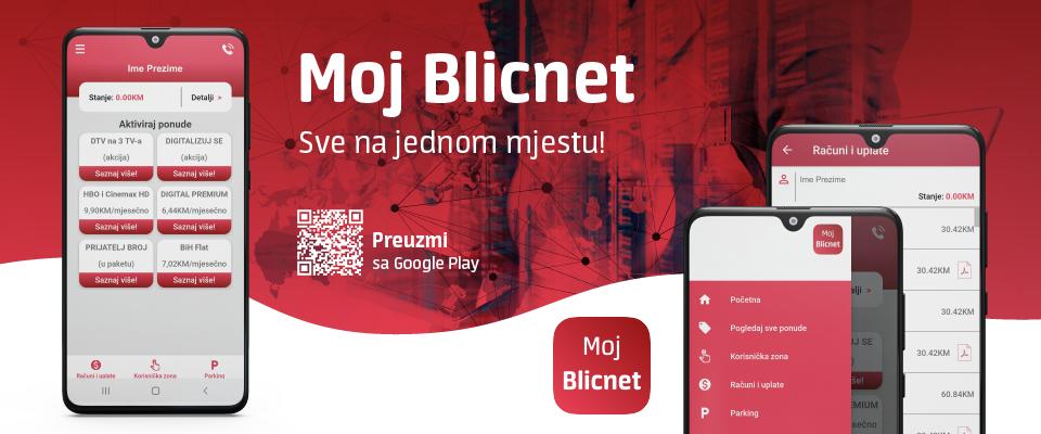Moj Blicnet mobilna aplikacija